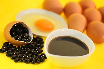 太陽卵卵黄油黒にんにく