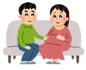 妊婦と若旦那