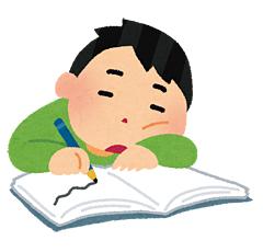 やる気のない勉強