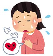 高血圧で動悸・息切れになる人